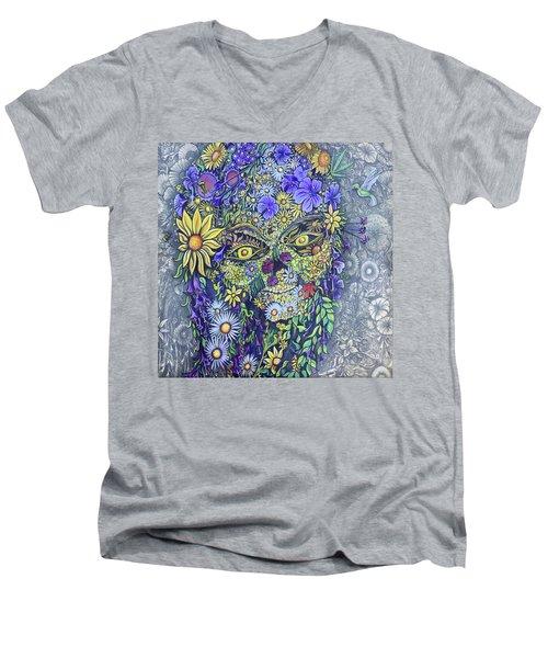 Summer Girl Men's V-Neck T-Shirt