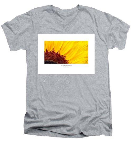 Summer Gold Men's V-Neck T-Shirt