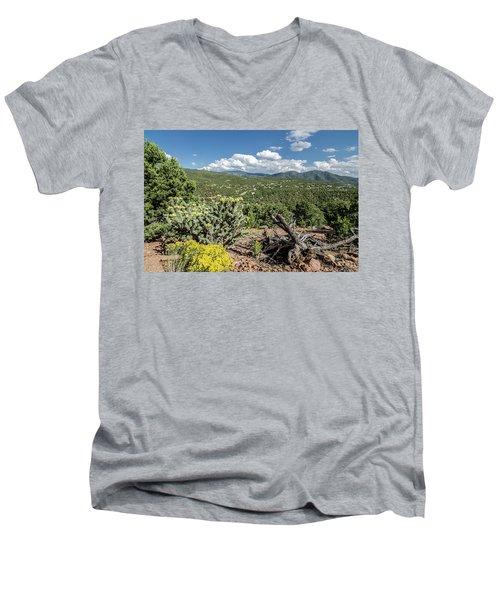 Summer In Santa Fe Men's V-Neck T-Shirt