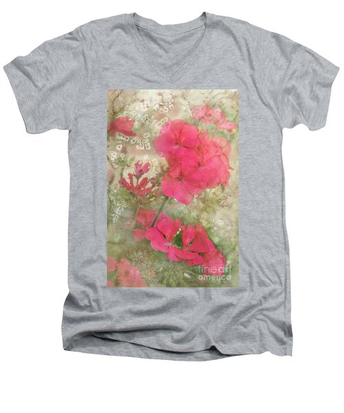Summer Joy Men's V-Neck T-Shirt