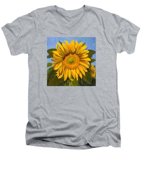 Summer Joy Men's V-Neck T-Shirt by Billie Colson