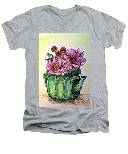 Summer Kitchen Men's V-Neck T-Shirt