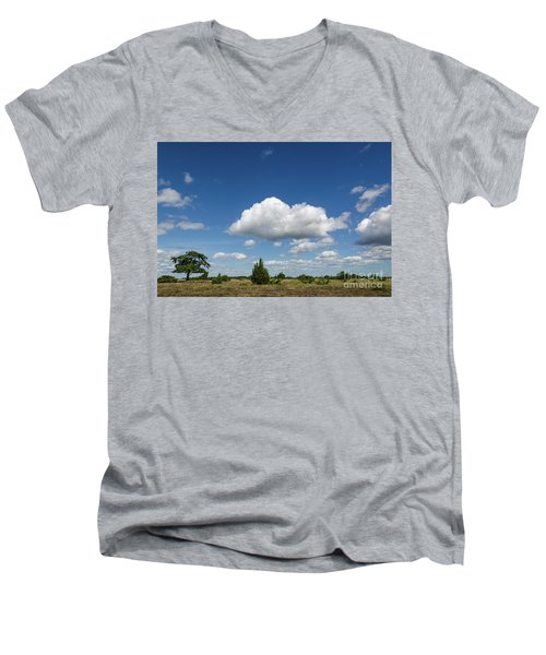 Summer Landscape Men's V-Neck T-Shirt by Kennerth and Birgitta Kullman