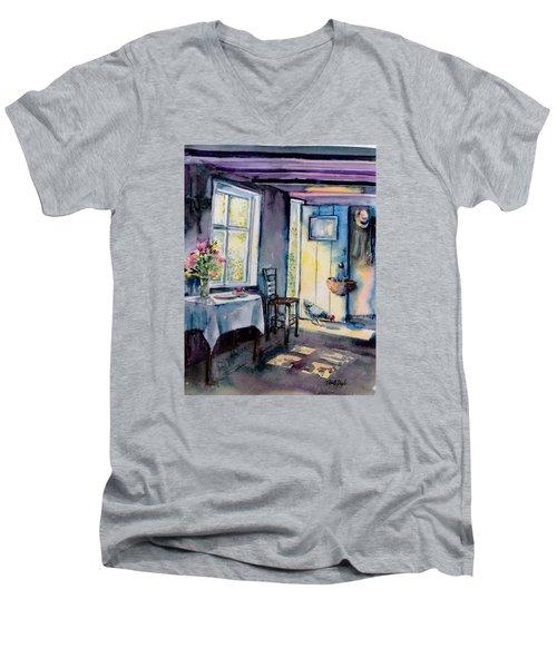 Summer Morning Visitor  Men's V-Neck T-Shirt