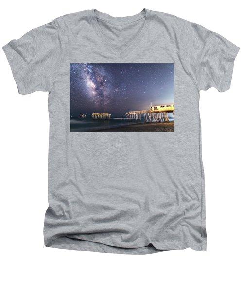 Summer Nights Men's V-Neck T-Shirt
