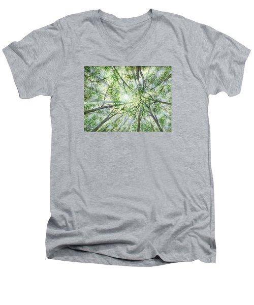 Summer Rays Men's V-Neck T-Shirt
