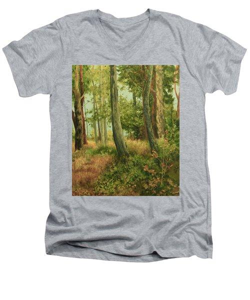 Summer, Sidney Spit Men's V-Neck T-Shirt