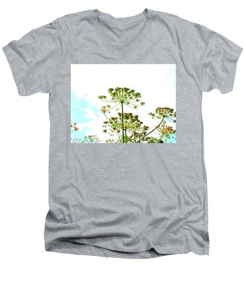 Summer Sky Men's V-Neck T-Shirt
