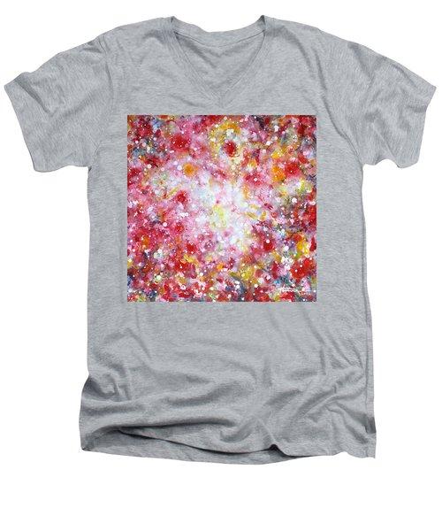 Summer Solstice Men's V-Neck T-Shirt by Kume Bryant