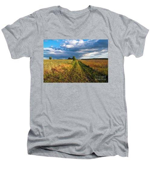 Summer Sound Men's V-Neck T-Shirt