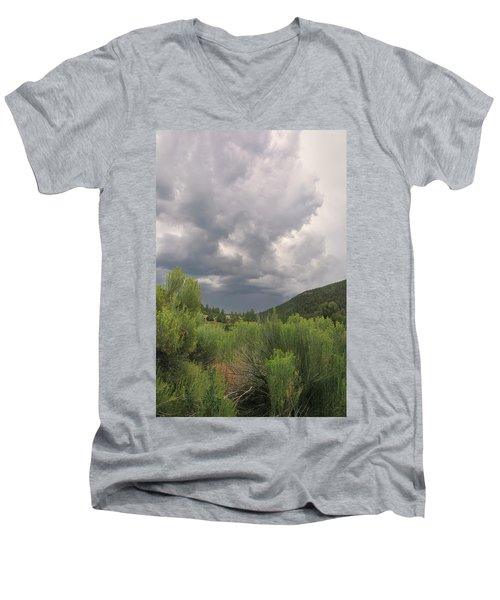 Summer Storm Men's V-Neck T-Shirt