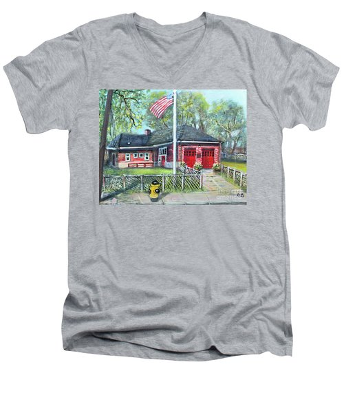 Summer Sunday At E4 Men's V-Neck T-Shirt