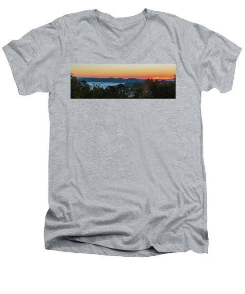 Summer Sunrise - Almost Dawn Men's V-Neck T-Shirt