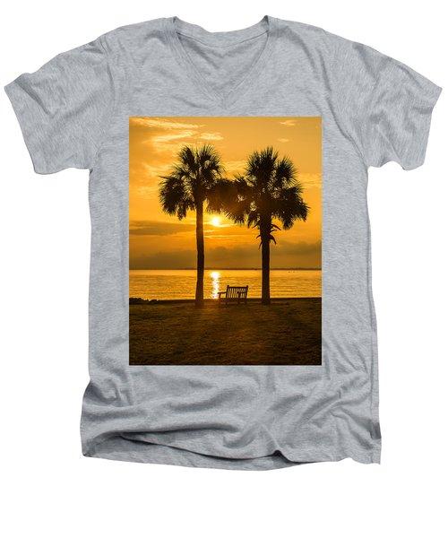 Summer Sunrise - Charleston Sc Men's V-Neck T-Shirt