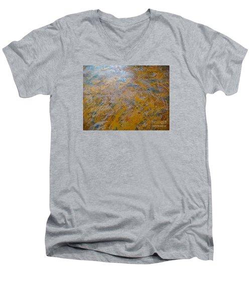 Summer Time Men's V-Neck T-Shirt