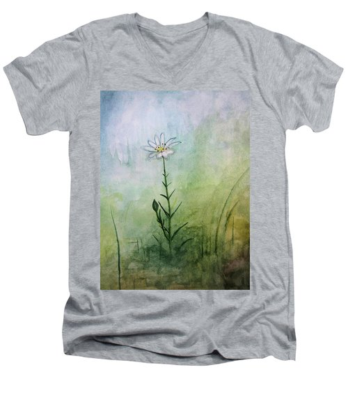 Summer Wildflower Men's V-Neck T-Shirt