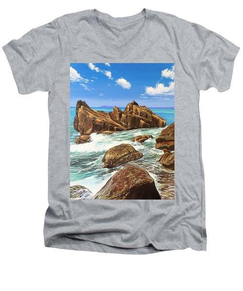 Summerfling Men's V-Neck T-Shirt