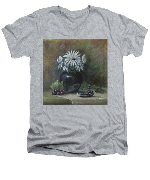 Summer's Delight Men's V-Neck T-Shirt