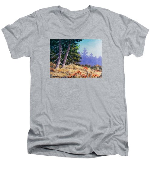 Summers End Men's V-Neck T-Shirt