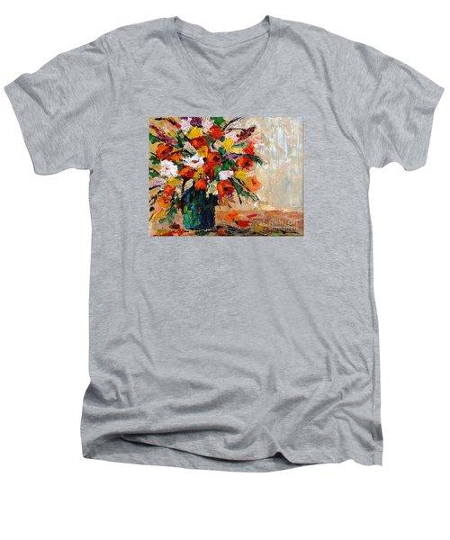 Summer's Riot Men's V-Neck T-Shirt