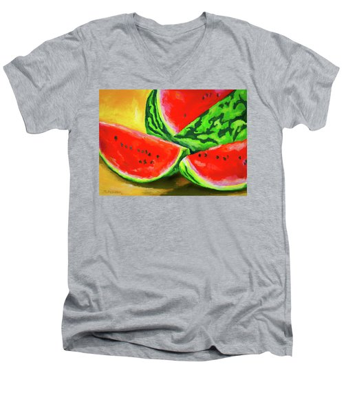 Summertime Delight Men's V-Neck T-Shirt