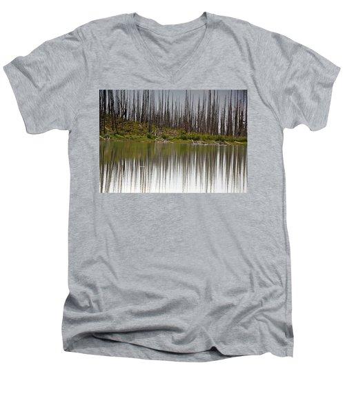 Summit Lake Men's V-Neck T-Shirt