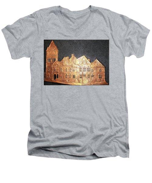 Sumter County Courthouse - 1897 Men's V-Neck T-Shirt