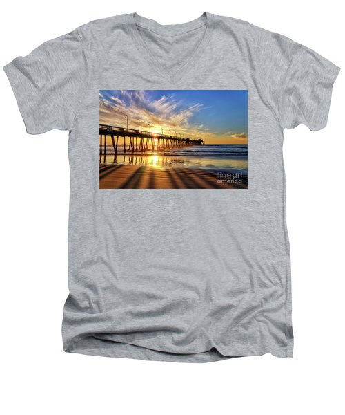 Sun And Shadows Men's V-Neck T-Shirt
