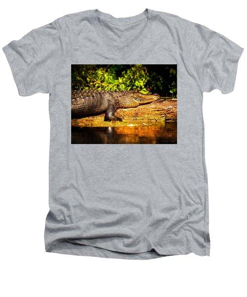 Sun-kissed Men's V-Neck T-Shirt