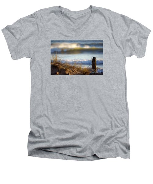 Sun Kissed Waves Men's V-Neck T-Shirt