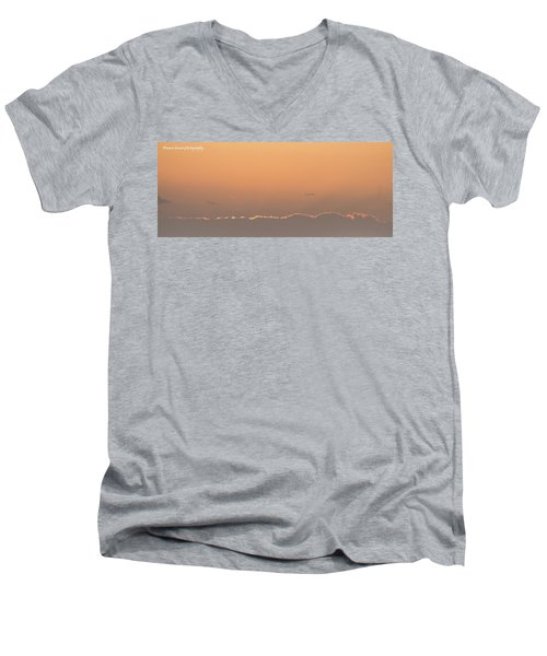 Sun N Clouds Men's V-Neck T-Shirt