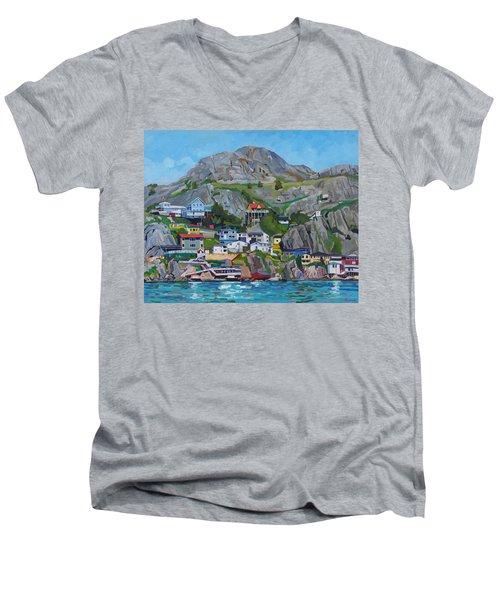 Sun Of The Battery Men's V-Neck T-Shirt