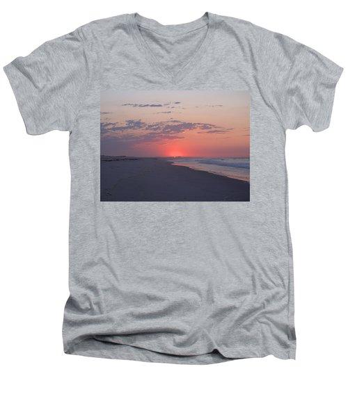 Sun Pop Men's V-Neck T-Shirt