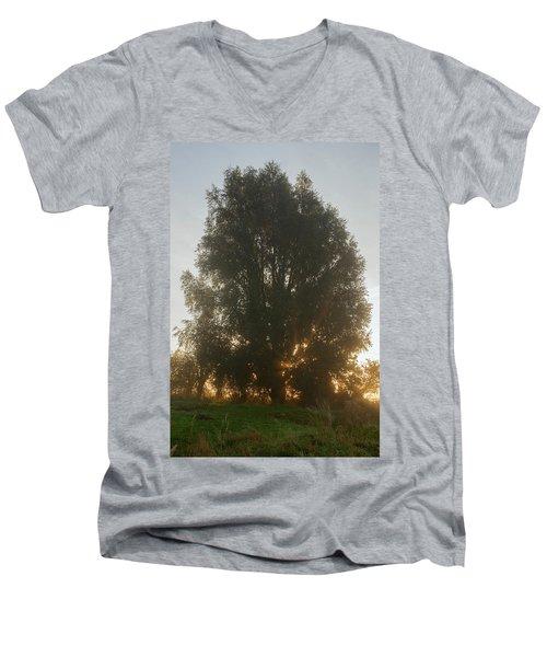 Sun Rays Men's V-Neck T-Shirt