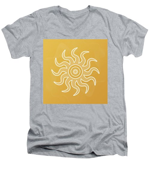 Sun Salutation Men's V-Neck T-Shirt