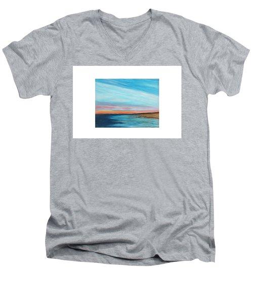 Sun Sliver Men's V-Neck T-Shirt