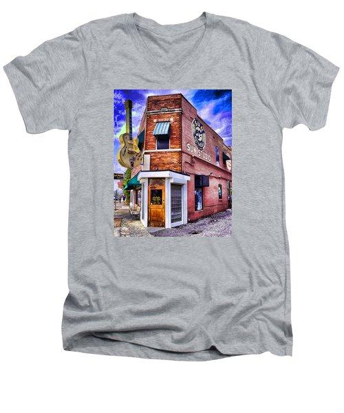 Sun Studio Men's V-Neck T-Shirt