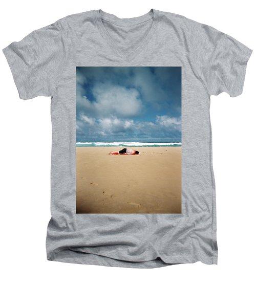Sunbather Men's V-Neck T-Shirt