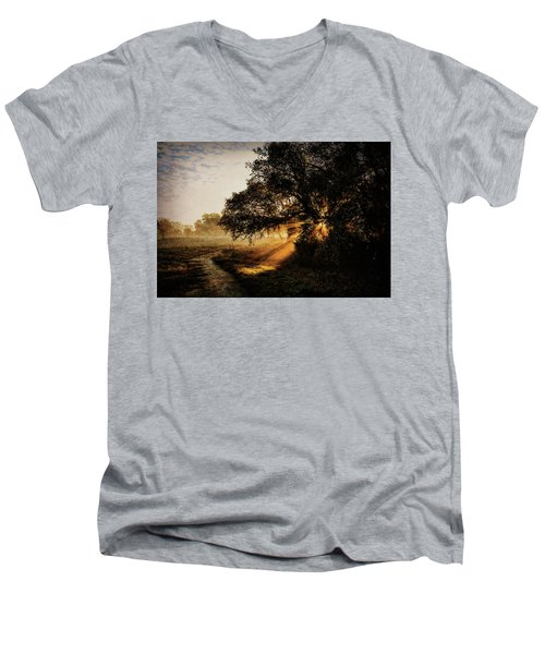 Sunbeam Sunrise Men's V-Neck T-Shirt