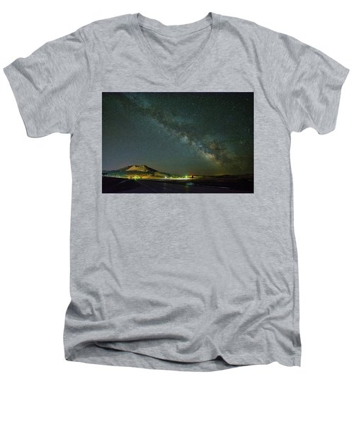 Sundance Milky Way Men's V-Neck T-Shirt