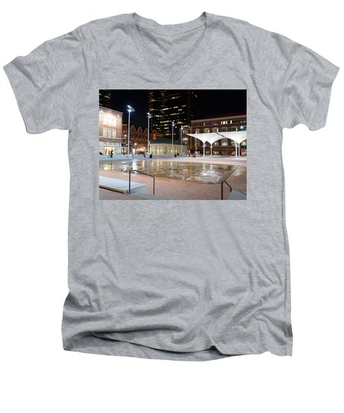 Sundance Square Fort Worth 3 Men's V-Neck T-Shirt