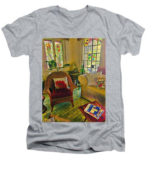 Sunday Chill  Men's V-Neck T-Shirt