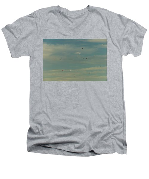 Sunday Meeting Men's V-Neck T-Shirt