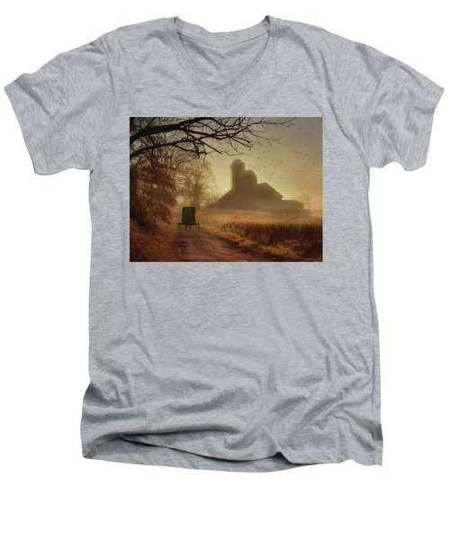 Sunday Morning Men's V-Neck T-Shirt