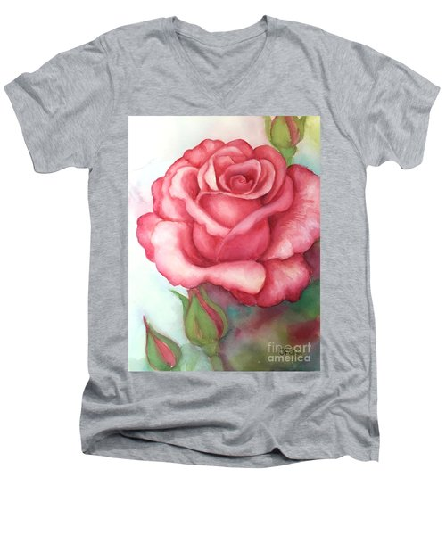 Sunday Rose Men's V-Neck T-Shirt