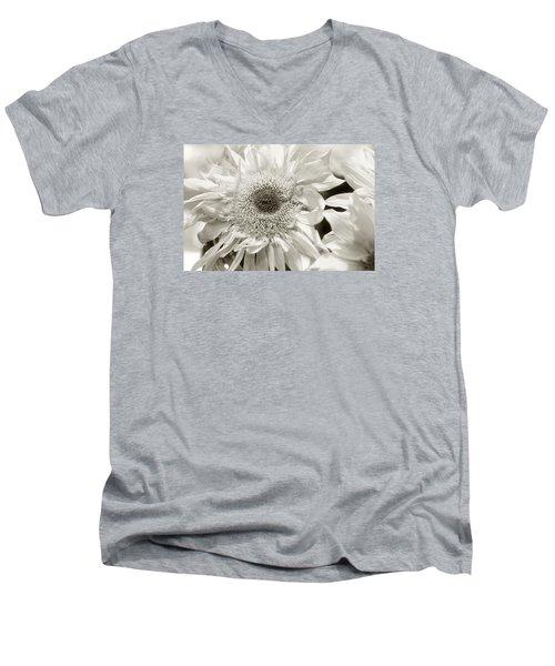 Sunflower 4 Men's V-Neck T-Shirt by Simone Ochrym