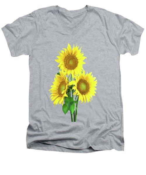 Sunflower Dreaming Men's V-Neck T-Shirt