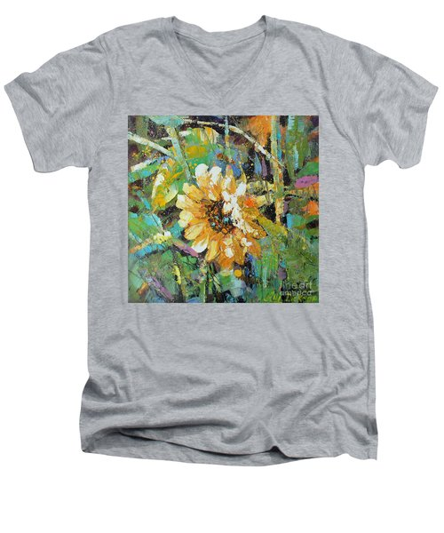 Sunflower I Men's V-Neck T-Shirt