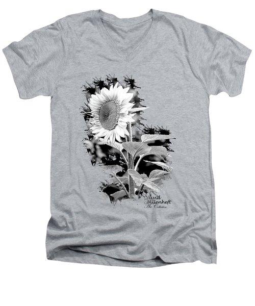 Sunflower Peace Canvas Print,photographic Print,art Print,framed Print,greeting Card,iphone Case, Men's V-Neck T-Shirt