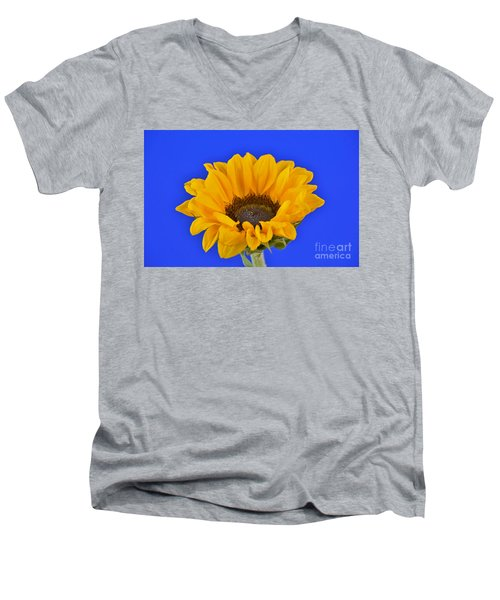 Sunflower Sunshine 406-6 Men's V-Neck T-Shirt